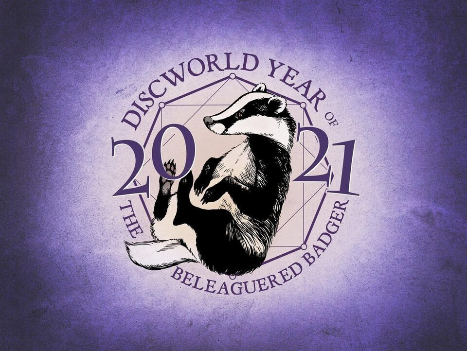 2021 will be the Discworld year of the Beleaguered Badger